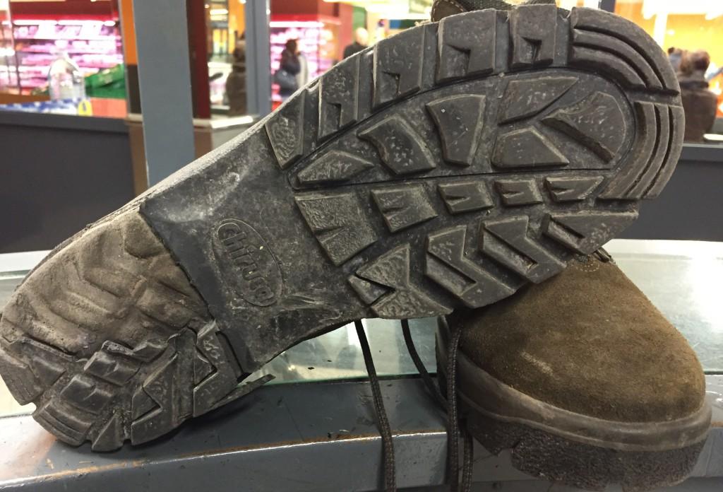 Reparar botas montaña